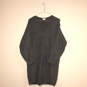 H & M Grey Sweater Dress